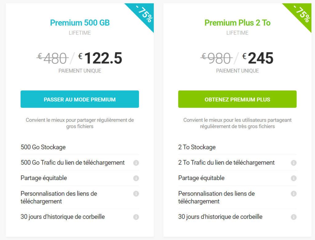 Promotions des offres pCloud Lifetime